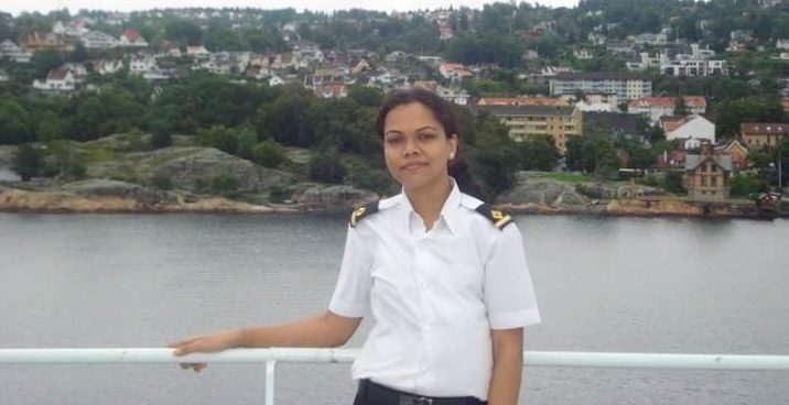 Inspiring Women-officers of the Merchant navy